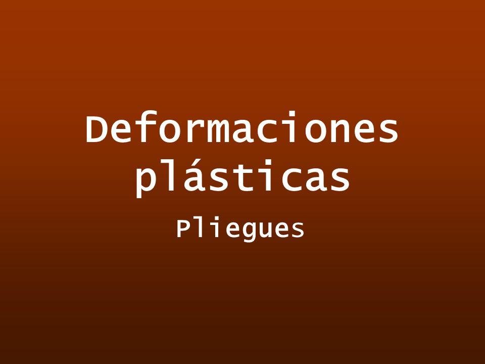 Deformaciones plásticas