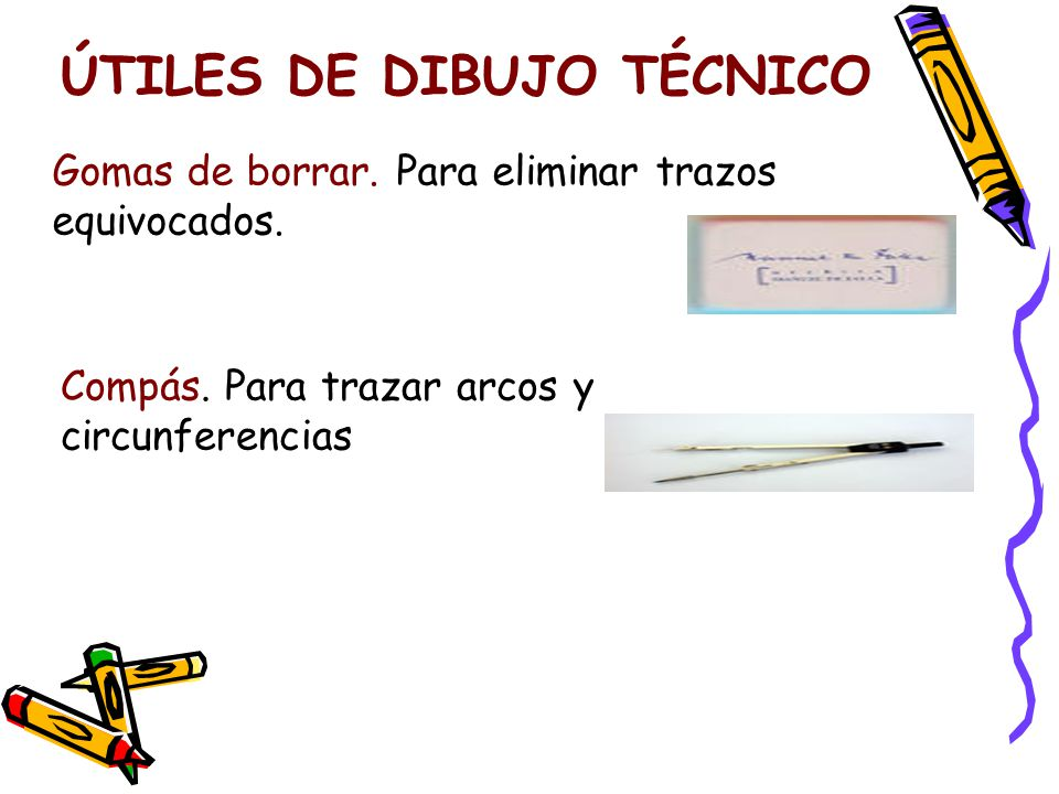 ÚTILES DE DIBUJO TÉCNICO