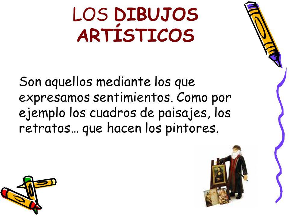 LOS DIBUJOS ARTÍSTICOS