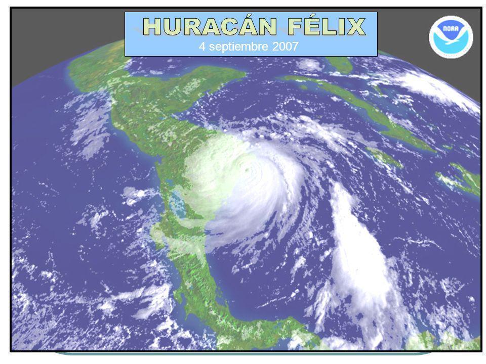 HURACÁN FÉLIX 4 septiembre 2007