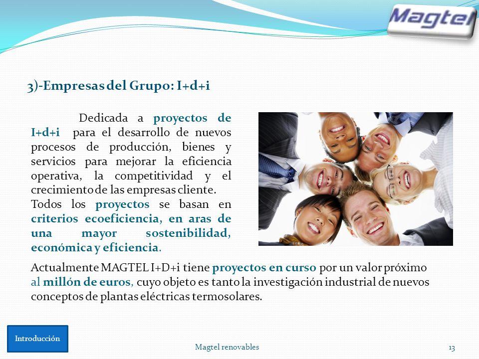 3)-Empresas del Grupo: I+d+i