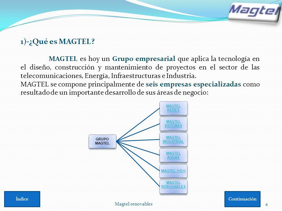 1)-¿Qué es MAGTEL