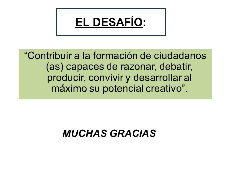 EL DESAFÍO: