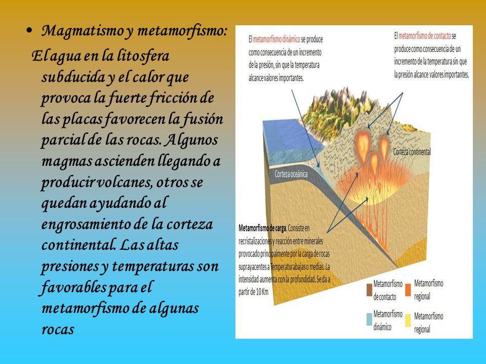 Magmatismo y metamorfismo:
