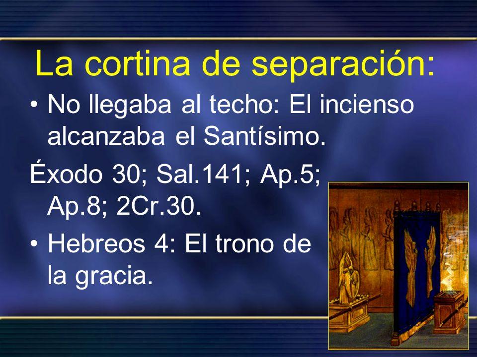 La cortina de separación: