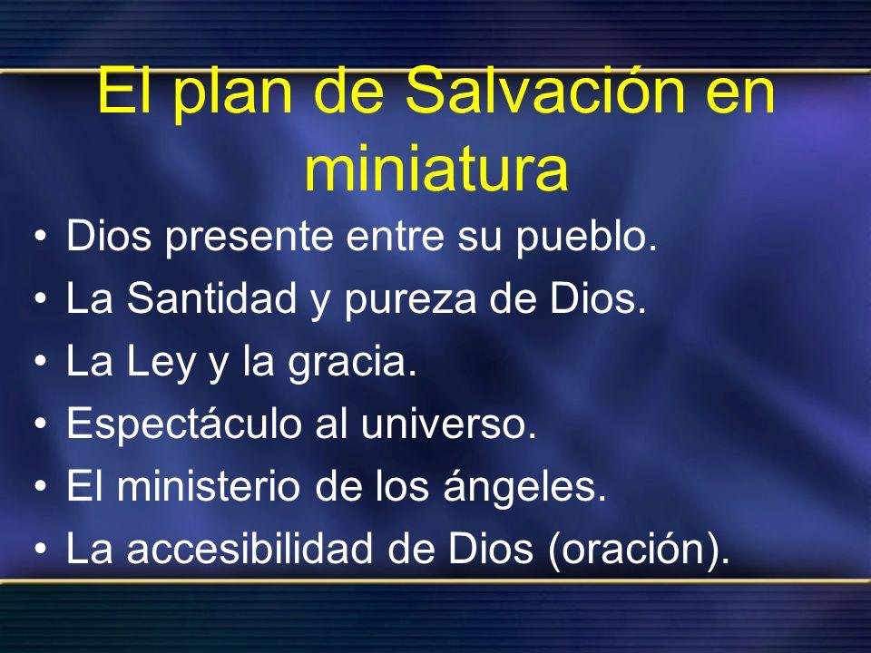 El plan de Salvación en miniatura