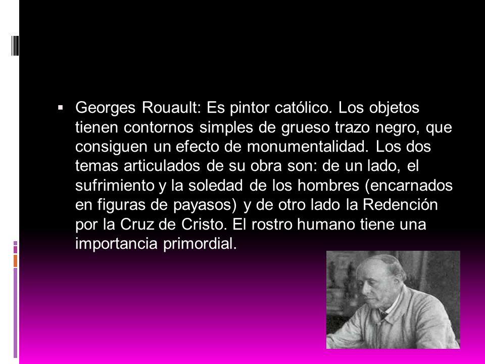 Georges Rouault: Es pintor católico
