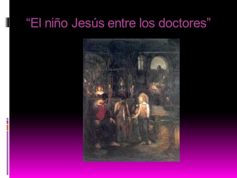 El niño Jesús entre los doctores