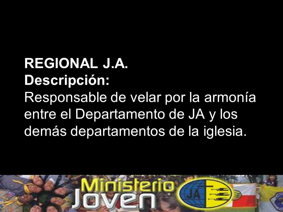 REGIONAL J.A.