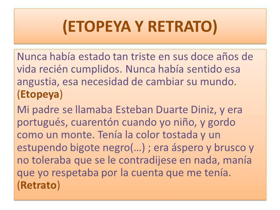 (ETOPEYA Y RETRATO)