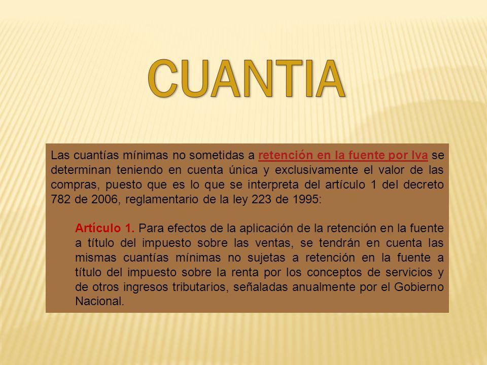CUANTIA