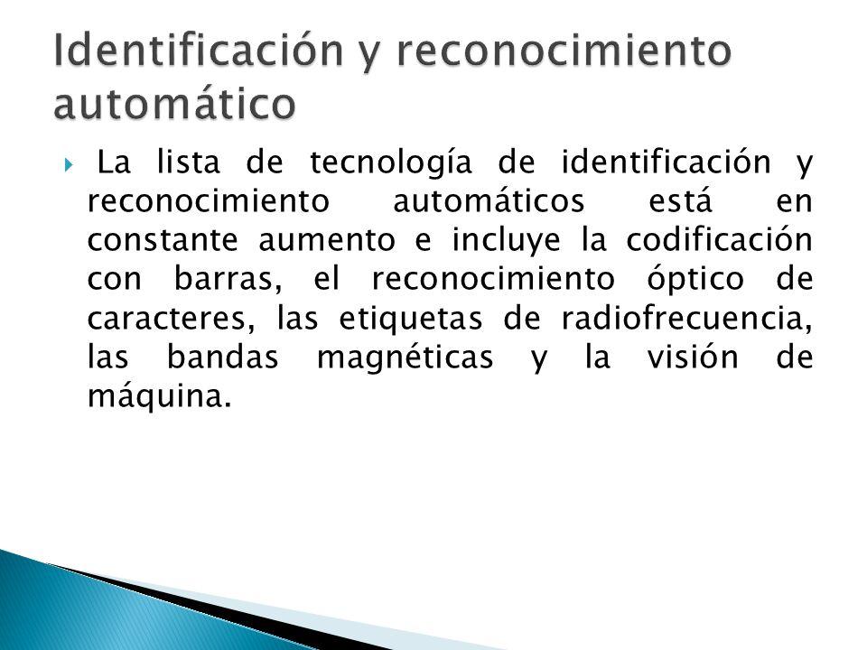 Identificación y reconocimiento automático