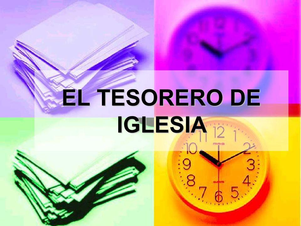 EL TESORERO DE IGLESIA