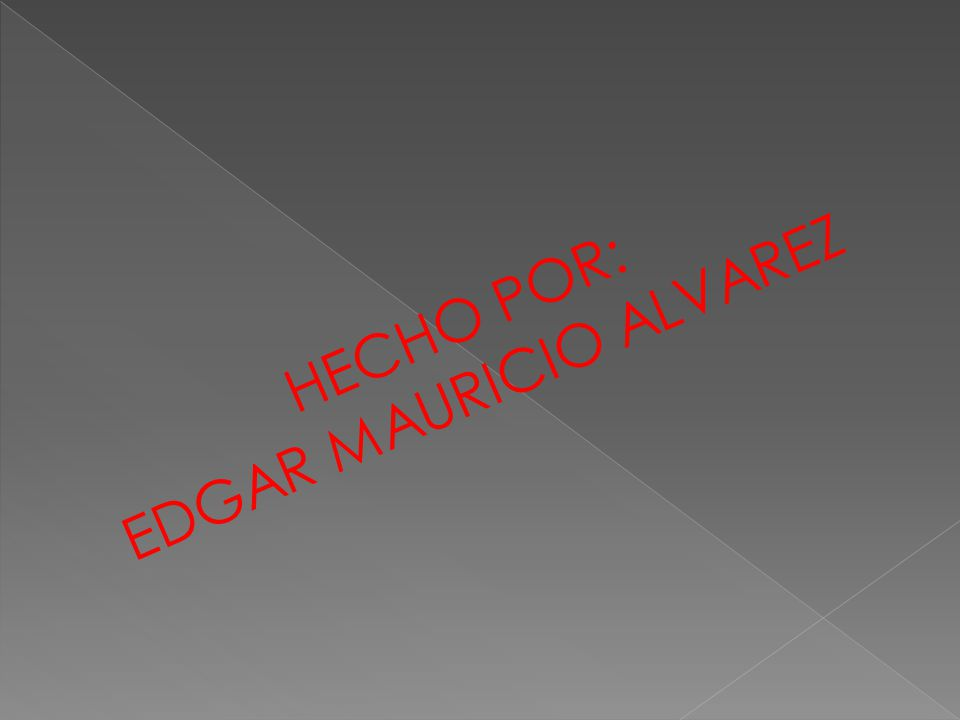 EDGAR MAURICIO ALVAREZ