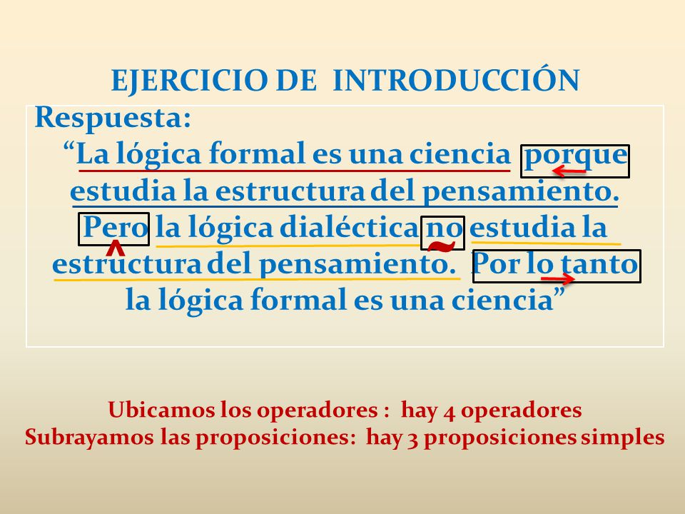 ˜ ^ EJERCICIO DE INTRODUCCIÓN Respuesta:
