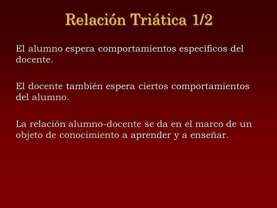 Relación Triática 1/2