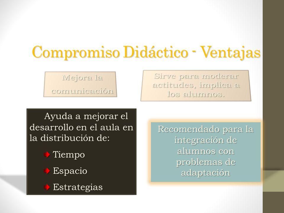 Compromiso Didáctico - Ventajas