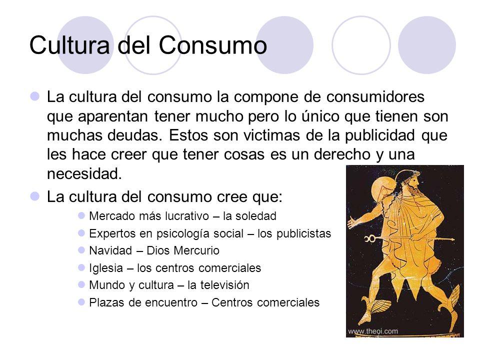 Cultura del Consumo