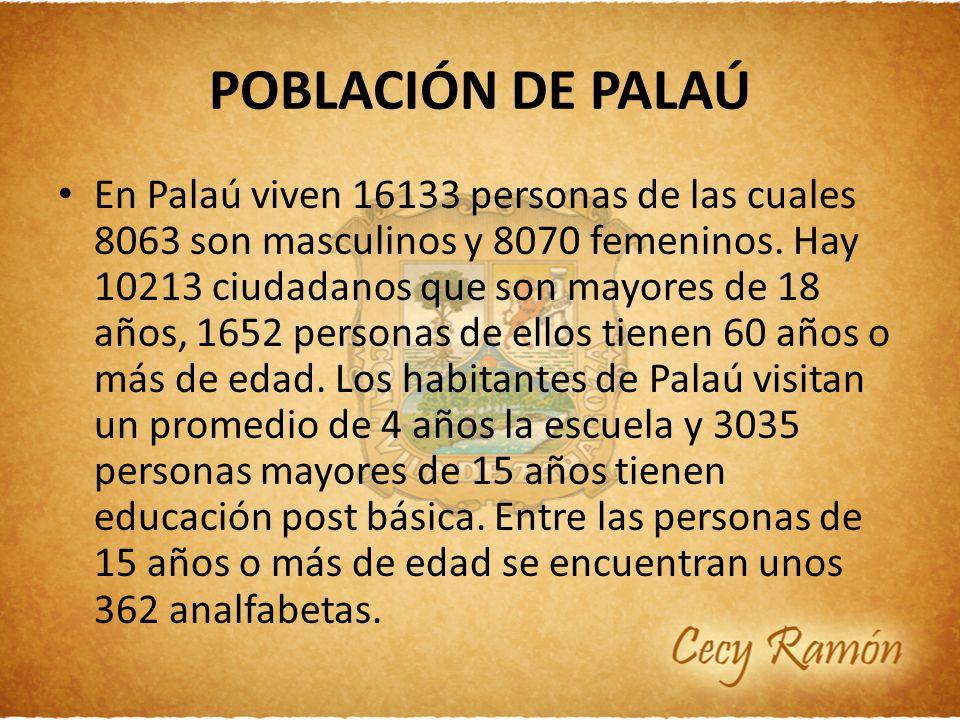 POBLACIÓN DE PALAÚ