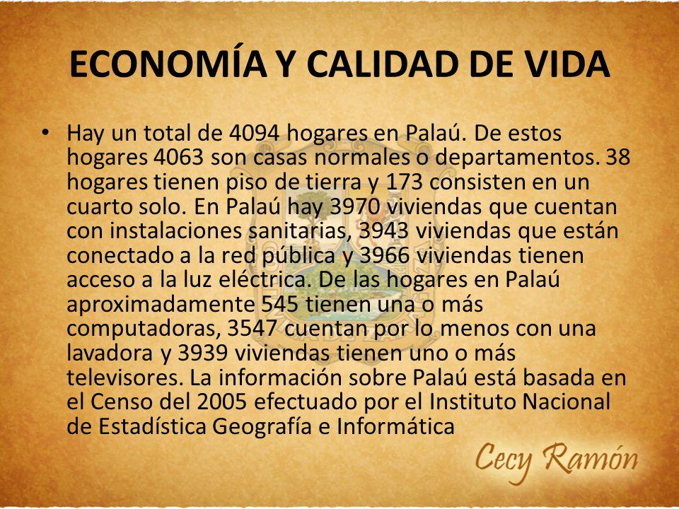 ECONOMÍA Y CALIDAD DE VIDA