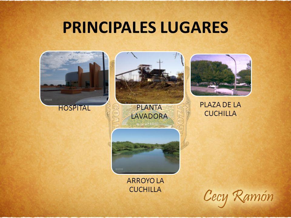 PRINCIPALES LUGARES PLAZA DE LA CUCHILLA HOSPITAL PLANTA LAVADORA