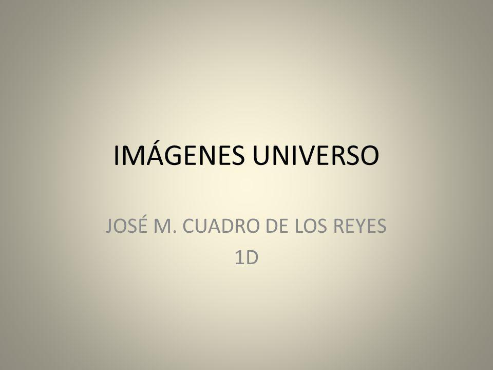JOSÉ M. CUADRO DE LOS REYES 1D