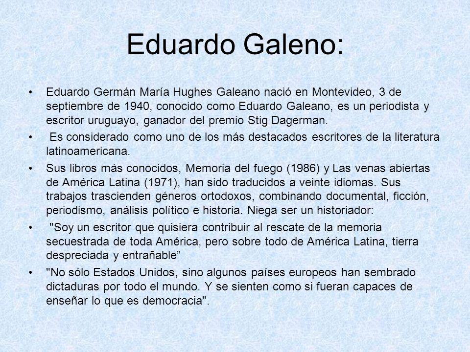Eduardo Galeno: