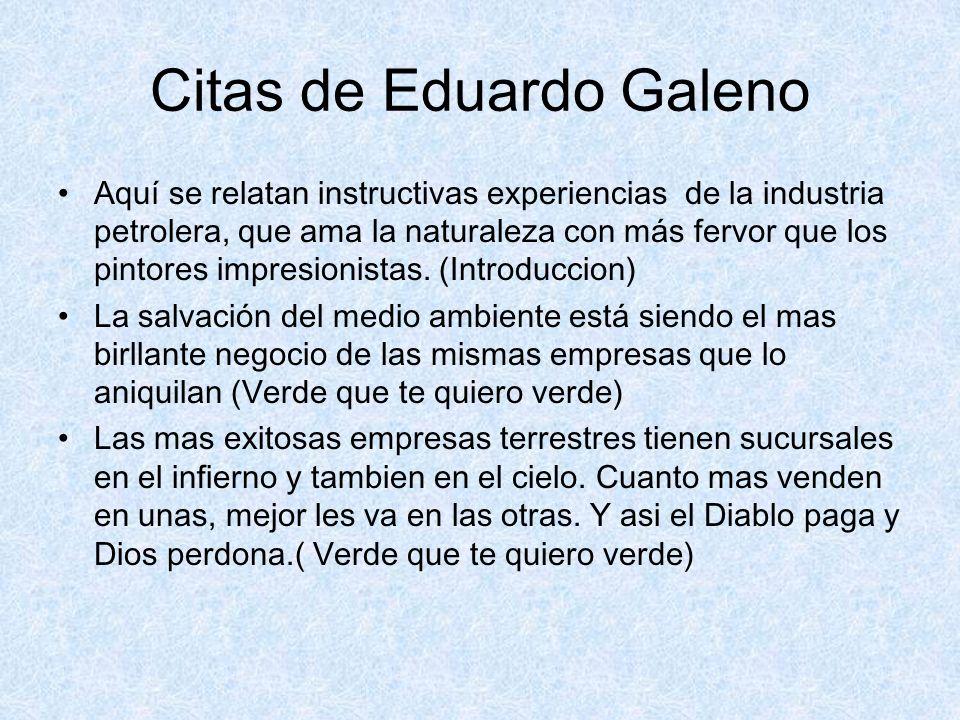 Citas de Eduardo Galeno