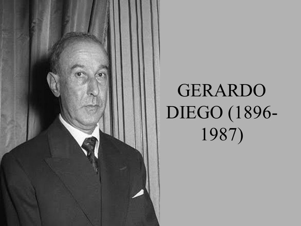 GERARDO DIEGO (1896-1987)
