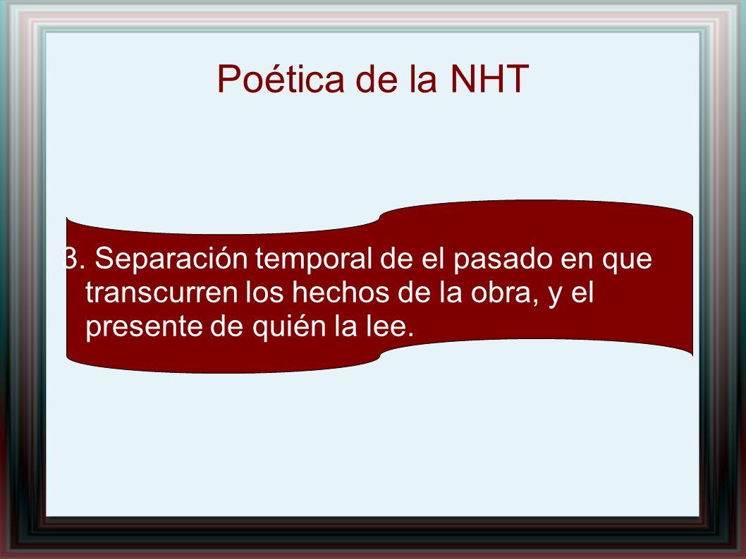 Poética de la NHT 3.