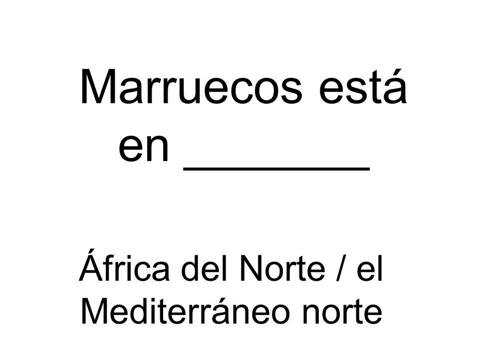 Marruecos está en _______