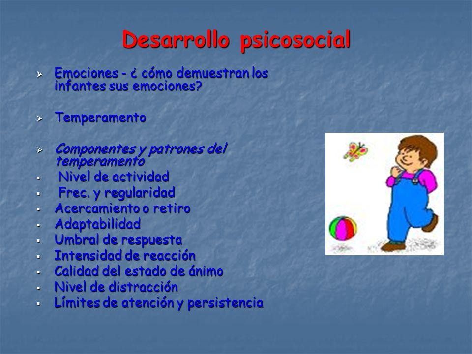 Desarrollo psicosocial