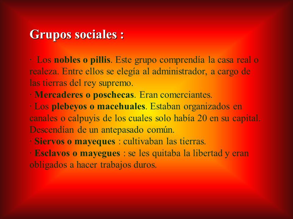 Grupos sociales :