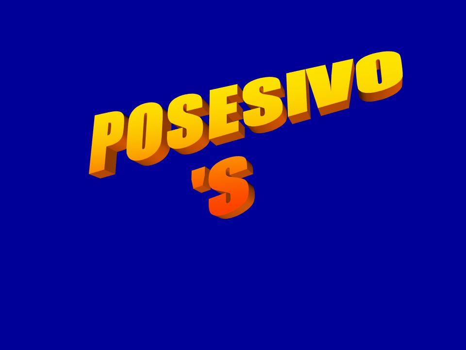 POSESIVO S