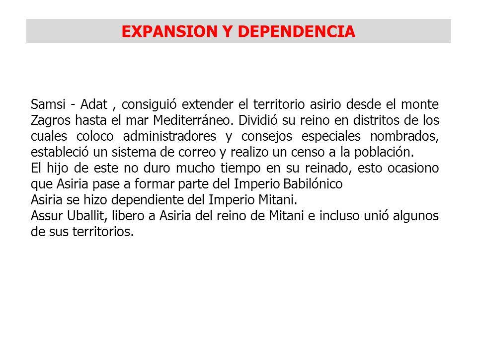 EXPANSION Y DEPENDENCIA