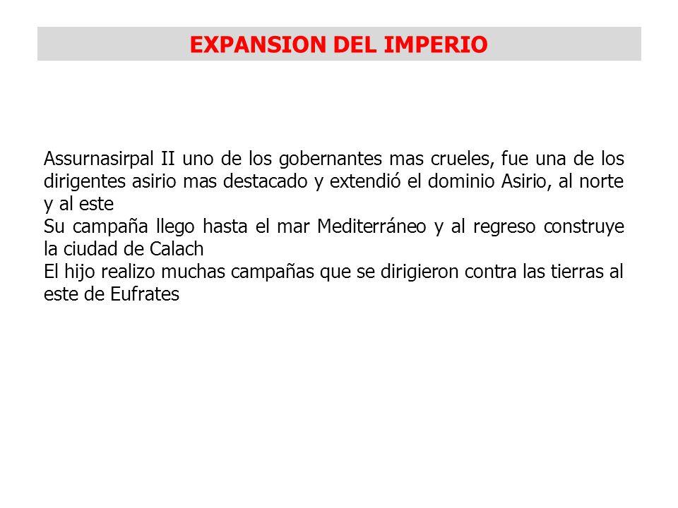 EXPANSION DEL IMPERIO