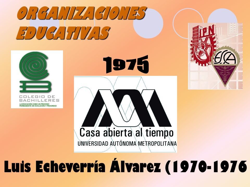ORGANIZACIONES EDUCATIVAS