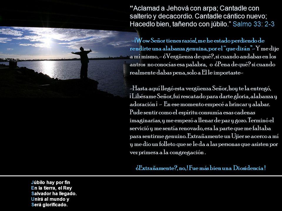 Aclamad a Jehová con arpa; Cantadle con salterio y decacordio