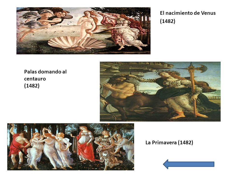 El nacimiento de Venus (1482)