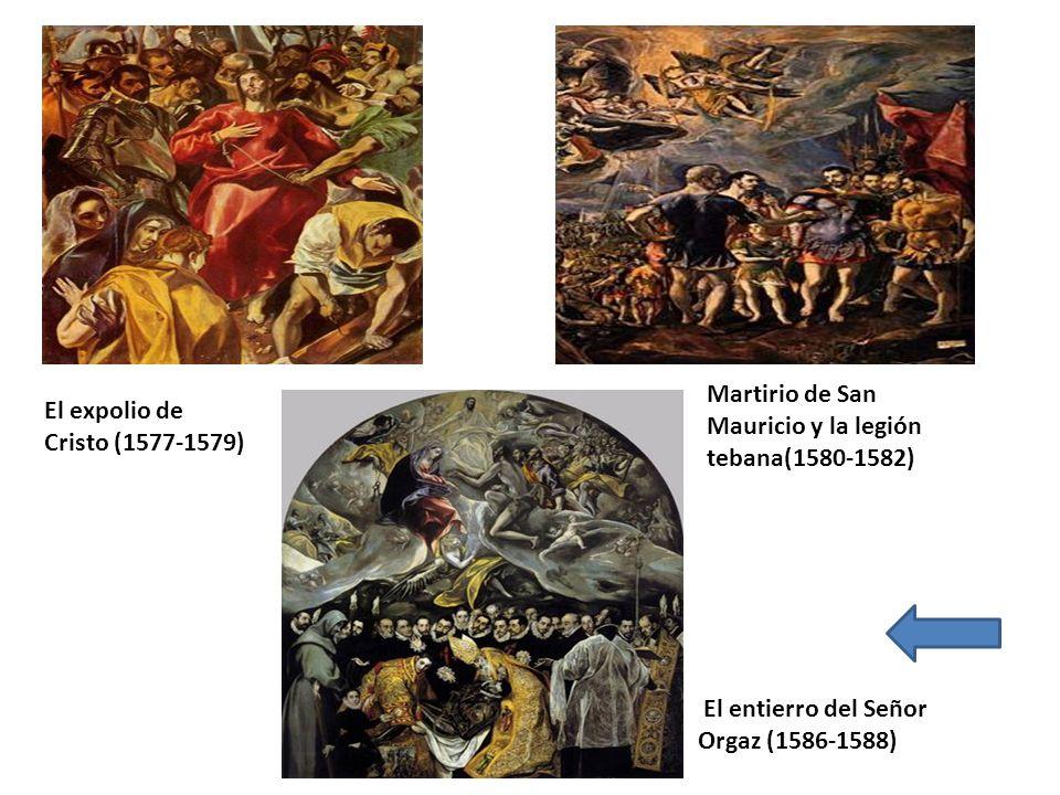 Martirio de San Mauricio y la legión tebana(1580-1582)