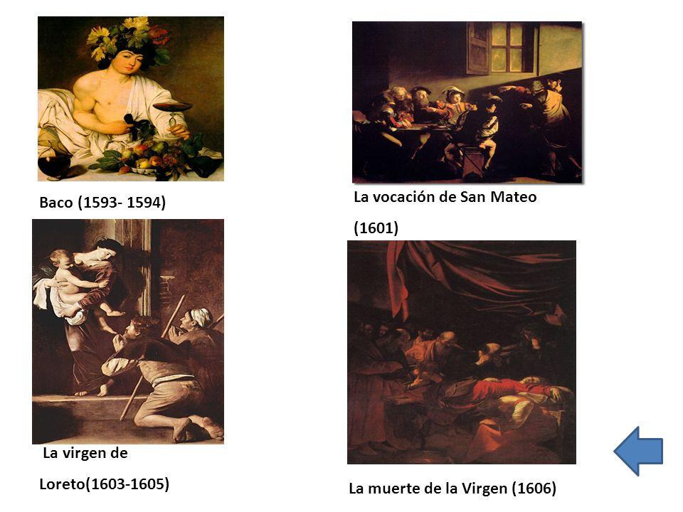 La vocación de San Mateo (1601)