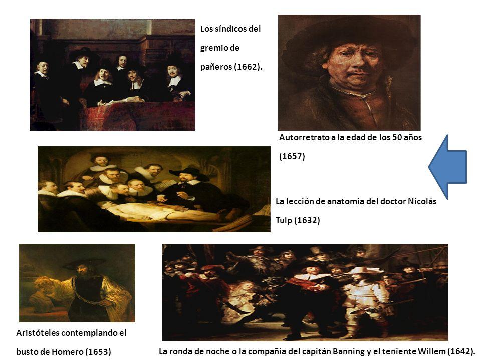 Los síndicos del gremio de pañeros (1662).