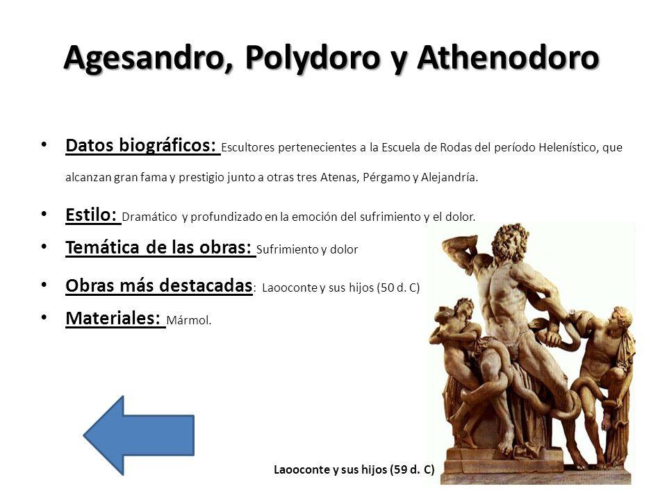 Agesandro, Polydoro y Athenodoro
