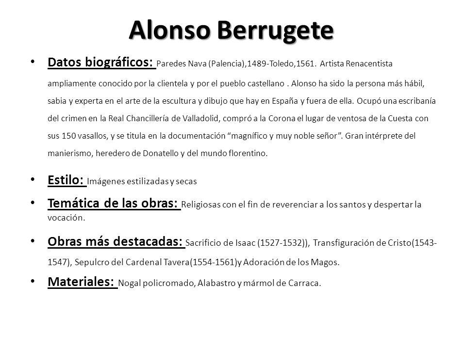 Alonso Berrugete