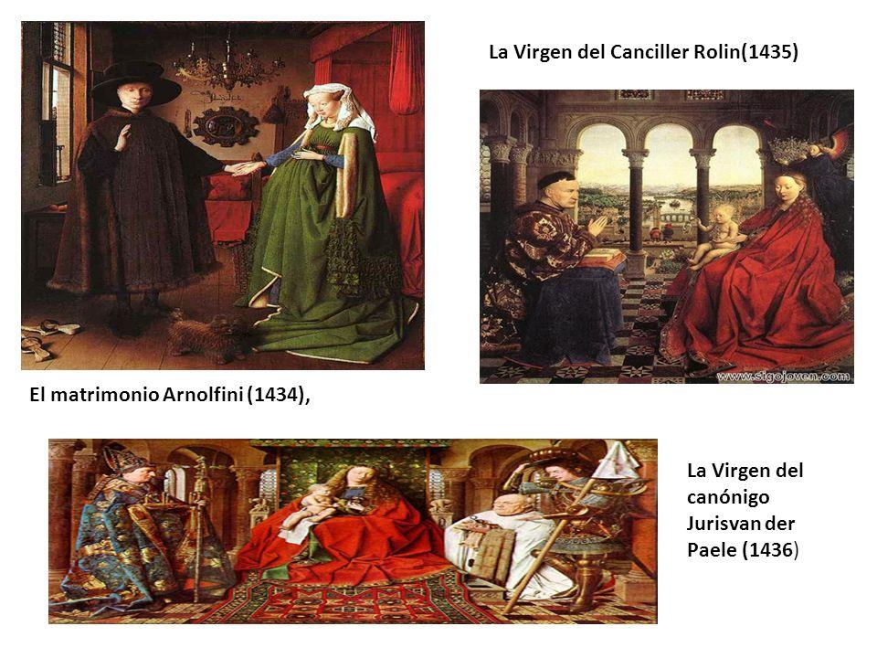 La Virgen del Canciller Rolin(1435)