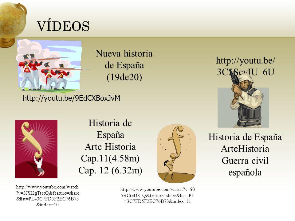 Nueva historia de España (19de20)