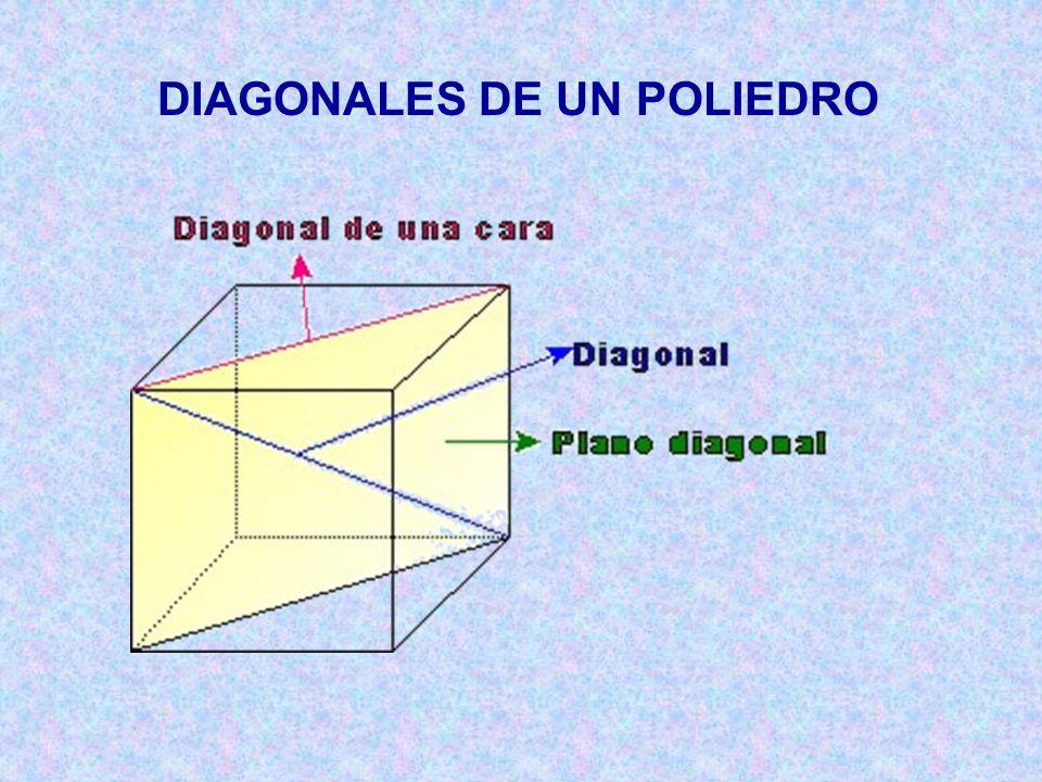 DIAGONALES DE UN POLIEDRO