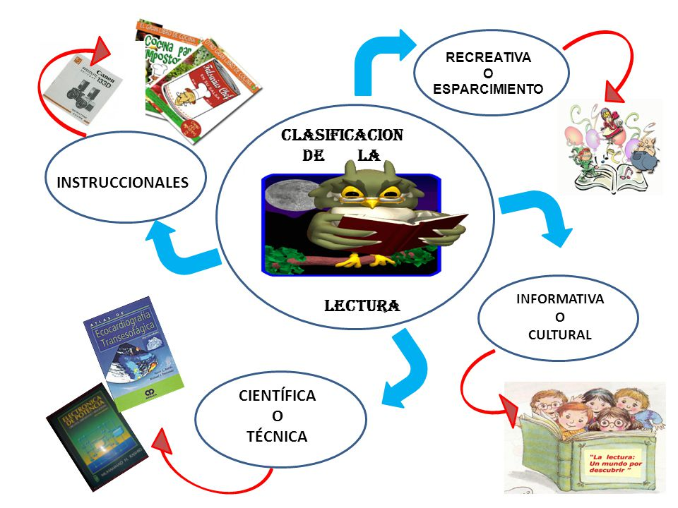 CLASIFICACION DE LA INSTRUCCIONALES LECTURA CIENTÍFICA O TÉCNICA