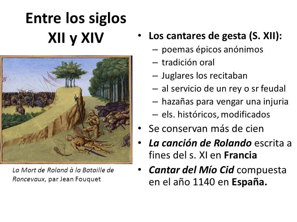 Entre los siglos XII y XIV