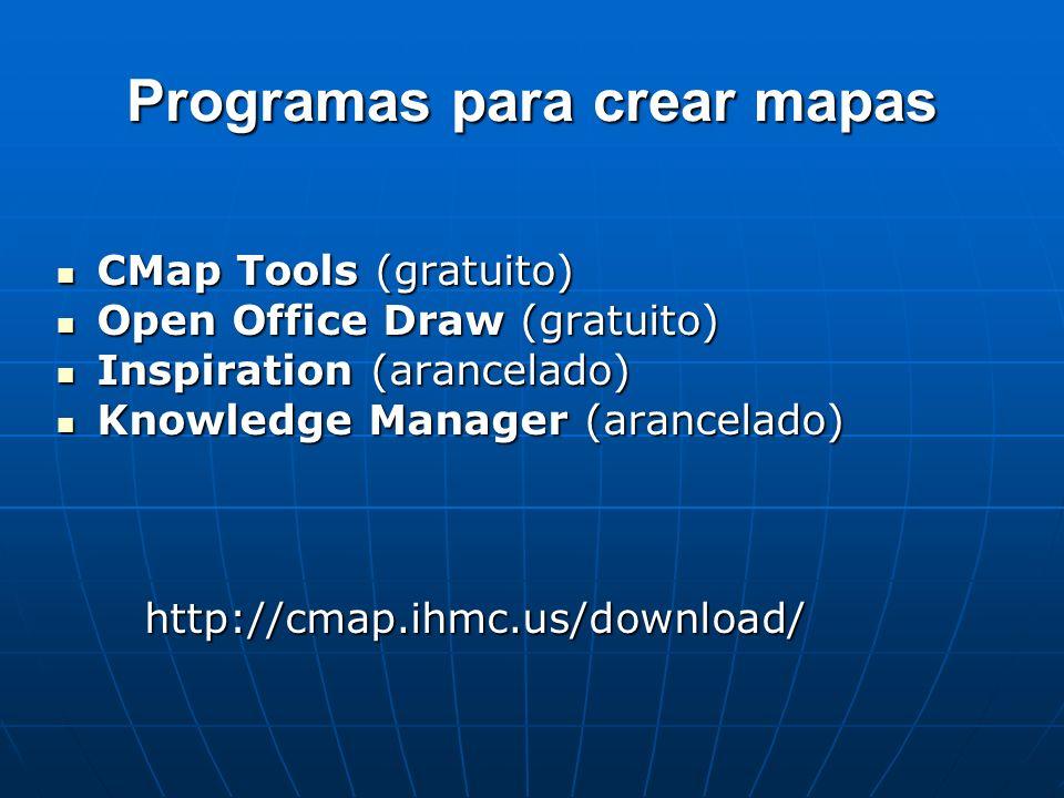 Programas para crear mapas